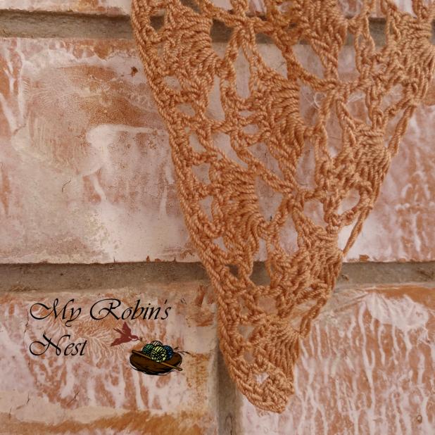 Sophia's Confirmation Veil in Bronze