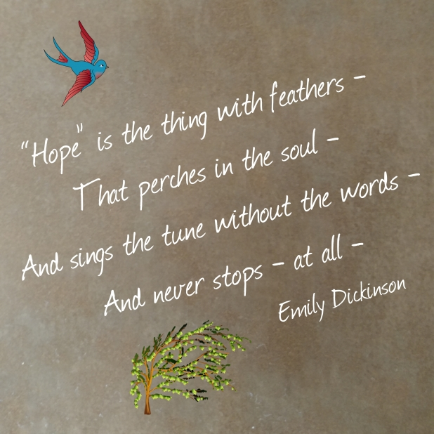 """Hope"" Emily Dickinson"