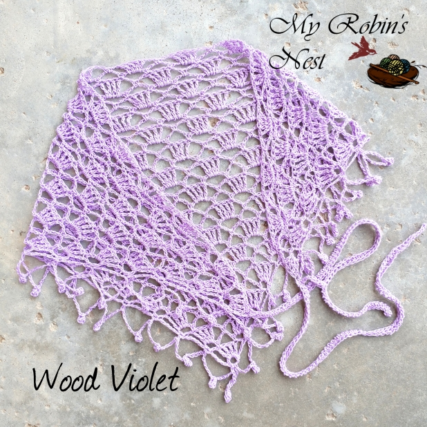 Faith Chapel Veil Wood Violet