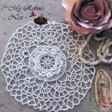 Little Rose Chapel Cap