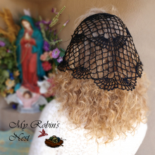 Mary My Queen Chapel Veil in black