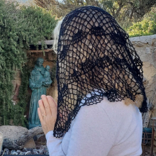 Mary My Queen Shoulder Length Chapel Veil